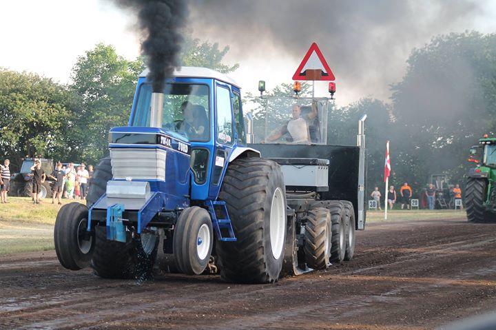 Traktortræk på Kjærgård landbrugsskole