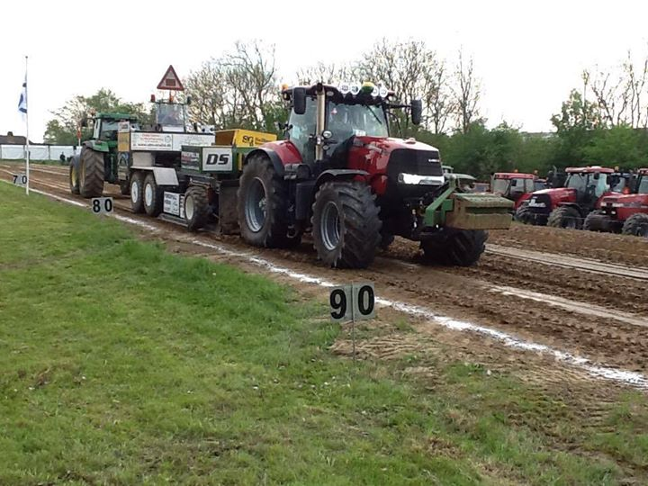 Traktortræk i Roslev