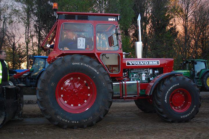 Traktortræk på Grindsted Landbrugsskole