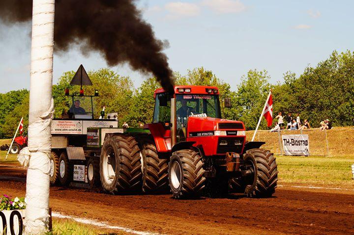 Traktortræk i Tjele 2018