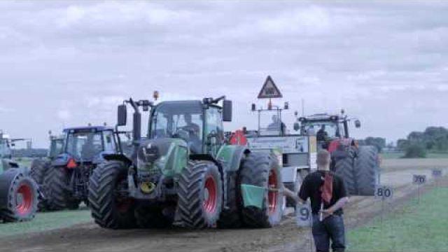 Traktortræk Nørre Løgum 2014 full HD Tractor Pulling