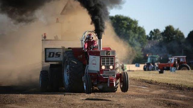 Traktortræk Nørre Løgum 2018 Loud pulls